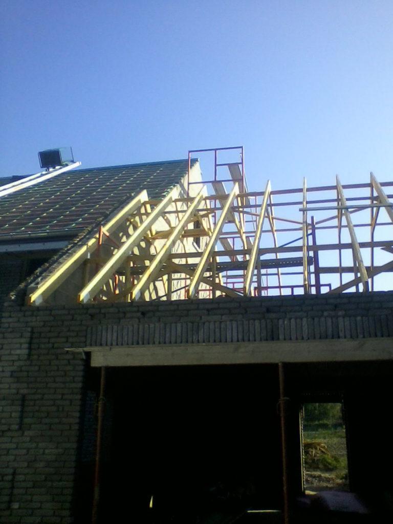 Construction d'une nouvelle toiture